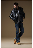 Мужской пуховик 2013 new down jacket thick jacket men short down jacket down jacket winter coat