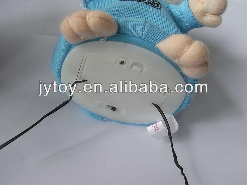 2013 hot sell DJ MC talking hamster toy/recording hamster