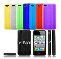 Чехол для для мобильных телефонов 100pcs Tire Shape Silicon Skin Case For iPhone 4S 4G