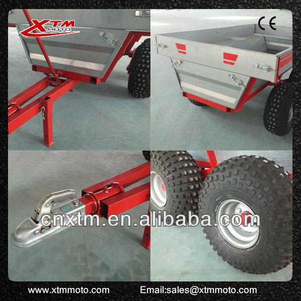 XTM TD-01 motorcycle cargo trailer