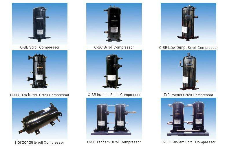 SANYO compressor scroll R410A-B8 Hi-modelos de POLICIAL