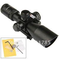 Тактические 2,5-10 x оптического прицела областей 40 винтовка с лазерным прицелом излучения - черный
