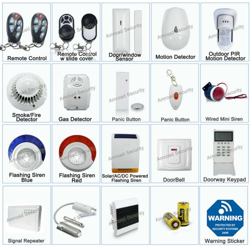 Most Advanced Gsm + Pstn Wireless Home Security Burglar Alarm ...