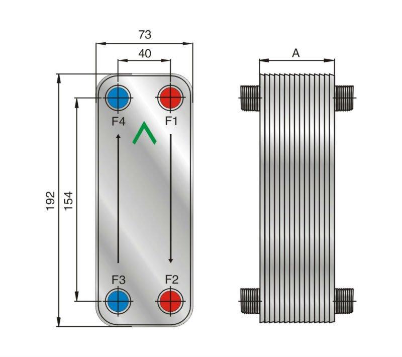 Теплообменник gtc-solar цена схема и подключение теплообменника и диаметры