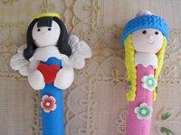 Кукла Craft pen doll art Child present Decoration