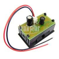 DC Power Monitor Mini Digital Voltmeter Panel DC 15V-80V Red LED Digital Voltage Meter For Electromobile And DIY etc #090687