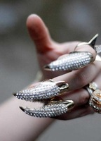 Кольцо USD! Trendy Crystal Paw PUNK Rings. . RG085001