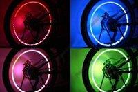 2x Bicycle Bike Tyre Wheel Blue LED Valve Cap Stem Light Free Shipping