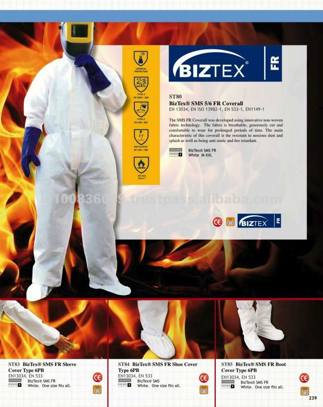 BizTex SMS FR Sleeve Cover Type 6PB
