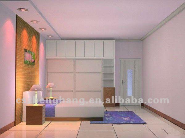 bedroom hanging cabinet design - Home design