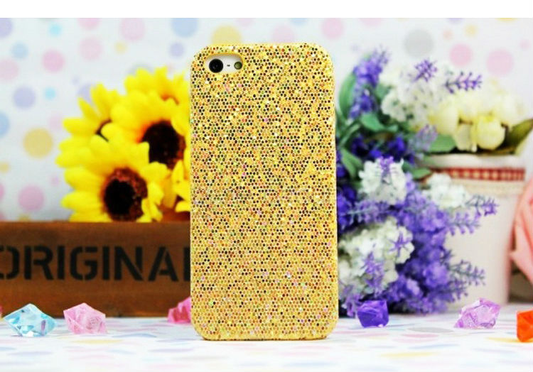 stock lot Fashion luxury diamond hard case for iphone 5 5G