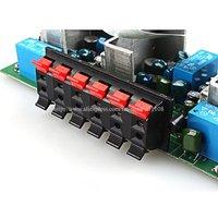 Автомобильный многоканальный усилитель F538 # Auto DC 12V hi/fi 5.1 Kit TA2020 Diy Amp