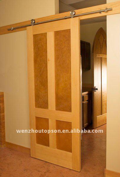 Coulissante grange quincaillerie de porte bois - Quincaillerie pour porte de grange coulissante ...