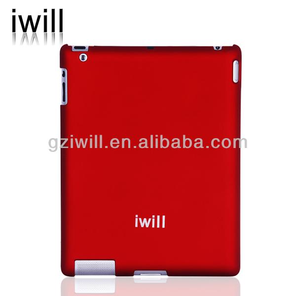 matte surface PC back case for ipad /ipad3/ipad4