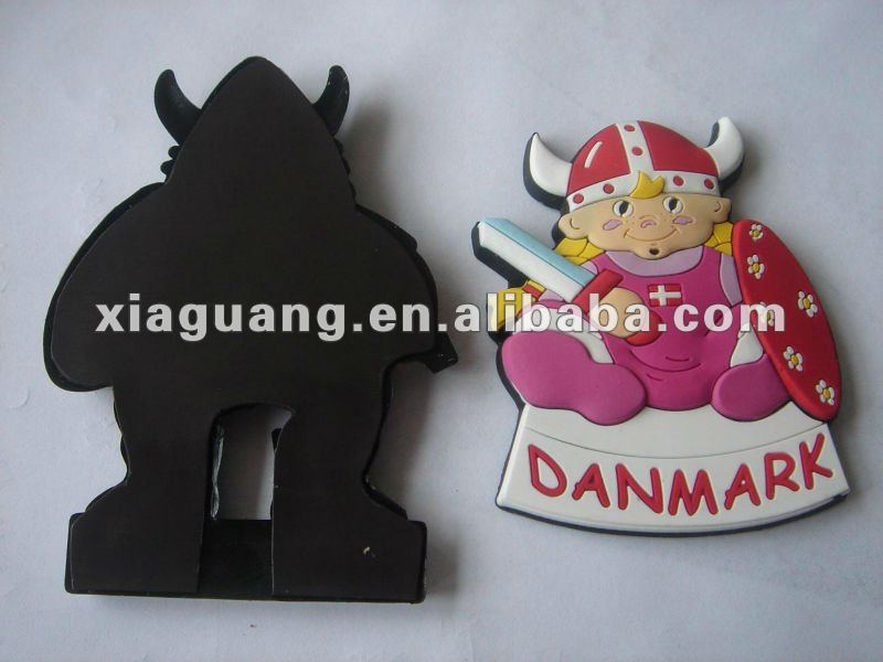 Flexible Rubber 2D pr 3D Soft PVC Fridge Magnet