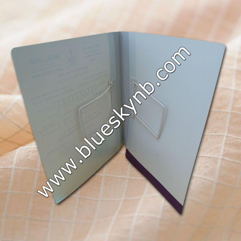 Plastic File Folder, medical file, file folder (BLY8 - 2031 PPMF)