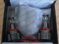 Неоновые кольца Angel Eyes CREE led 40W H8 LED Angel Eyes for BMW Car auto Headlight LED Marker angel eyes for BMW 13 5 6 7 X Z series E87 E90 E60 E63 E64