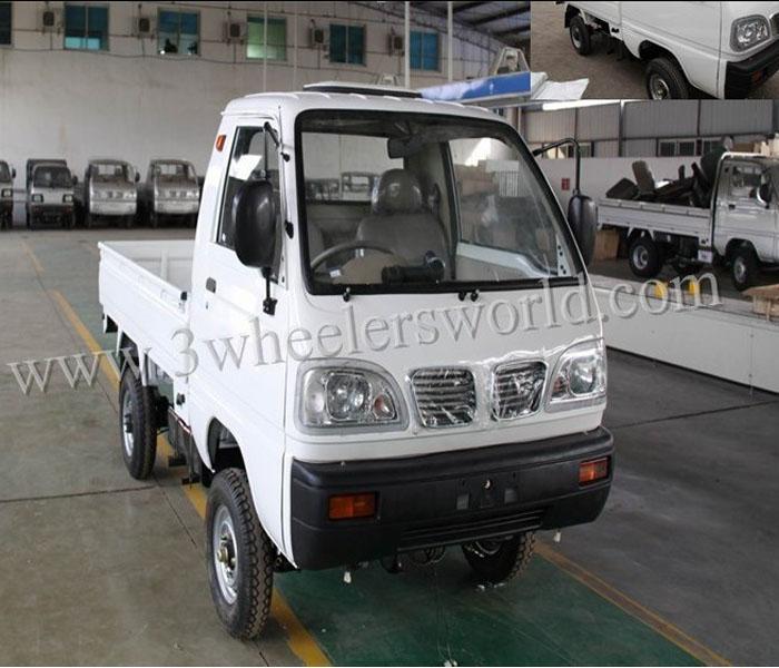 2014 CHINA new product mini pickup truck/4 wheel mini cargo van for sale