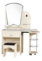 2012 mdf wood dressing table