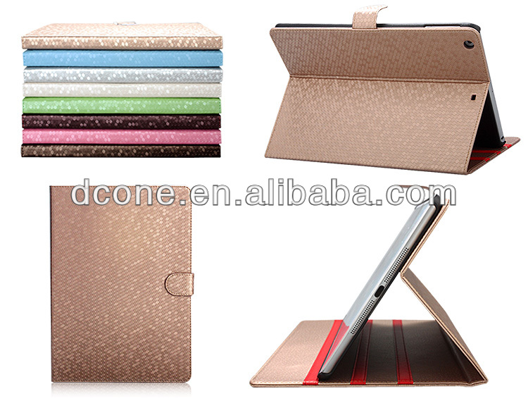 Fashion Leather Magnetic Smart Flip Cover Protect Stand Case For iPad 5 Air