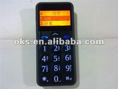 9800 old QUAD BAND Unlocked CELL Phone Elders&Children big keypad