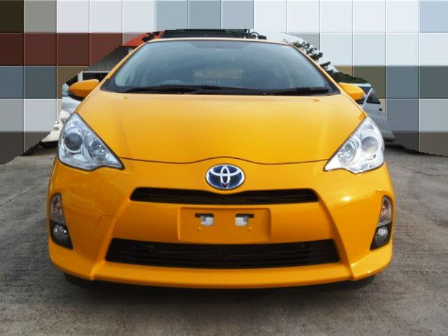 Japanese second hand Toyota car from official auctions