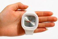 Наручные часы Oversized Colorful Jelly Candy Sports Quartz Rubber Wrist Watch UNISEX # L05150
