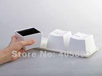 Кружка Cheap Ctrl ALT DEL Keyboard Cup Novelty Cute Coffee Cup Gift 3pcs/set