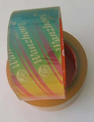 water based glue yellowish packing packing adhesive tape