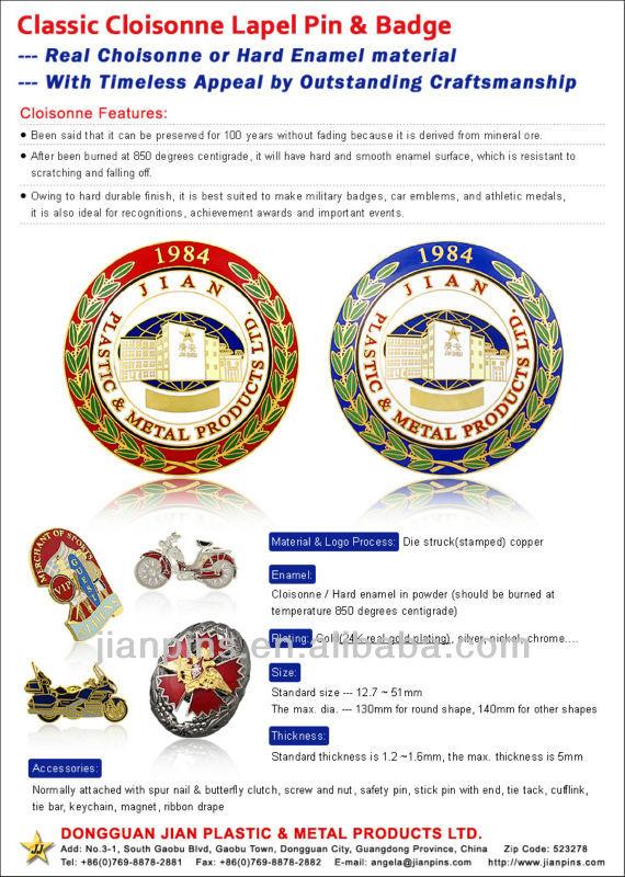 Top Selling High Quality Custom Car Badge Emblem