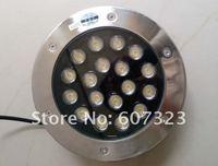 1pc/lot AC24/110V/220V 18W led underground lighting buried lamp PZ-UG-18