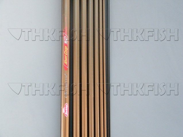 EMS!! 3X LOT 360CM Berkley Shortcarp Carp Rod Fishing Rods Freshwater Rod Lake fishing Pole