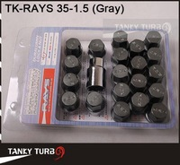 Диски и Аксессуары для авто Tansky -NEW RAYS Racing Nuts P:1.5 L:35mm TK-RAYS 35-1.5 Default Color is Gray