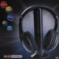 Наушники Wireless Earphone Headphone 5 in 1 for MP3 PC TV #9874