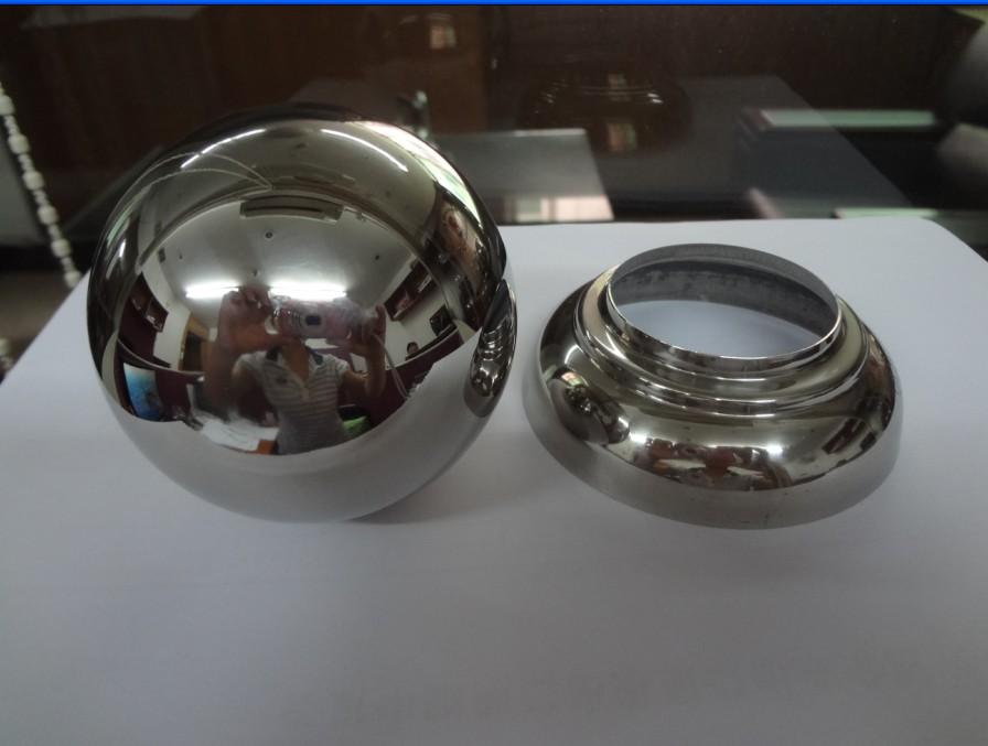 stainless steel handrail/railing ball ,inox handrail balls