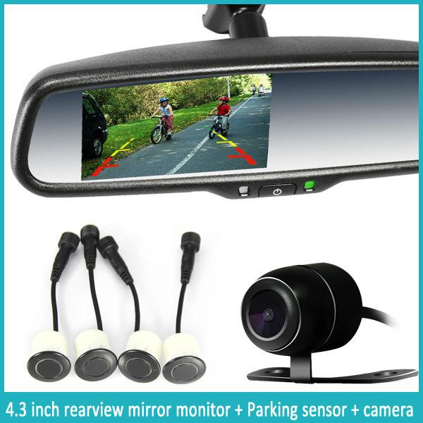 السيارات يعتم مرآة مع rearveiw الكاميرا
