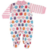 Детский комбинезон-пижама Hot Sale Baby Hanging Baby Sleep N Play, Baby pajamas Clothes Rompers, blanket sleepers 0-3, 3-6, 6-9months