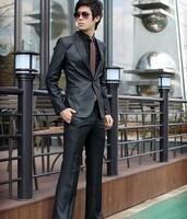 High-quality Fashion Men's Slim Suit, Men's Business Suit Set, 6 Size