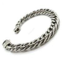 Браслет hot bike men's bracelet silver chain children's jewelry boy's bangle 316L stainless steel