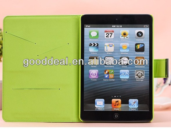 New product smart PU leather cover for ipad mini 2 cover