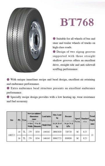 Wanda BOTO 11R22.5 Truck tire