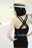 Женский комбинезон 2012 Fashion trendy casual women spring autumn jumpsuits vest style pants jumpsuit, special pants, fashion clothing