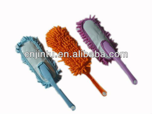 Special car washing brush and dusting brush