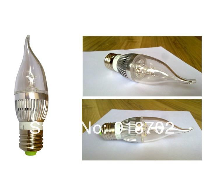 LED Kerzenleuchte E27 / 4 W