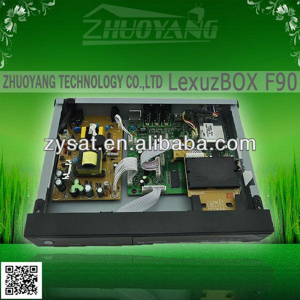 Brazil High Definition DVB-C lexuzbox f90 paraguai Azamerica F90 / Lexuzbox F90 with PVR Brazil lexuzbox
