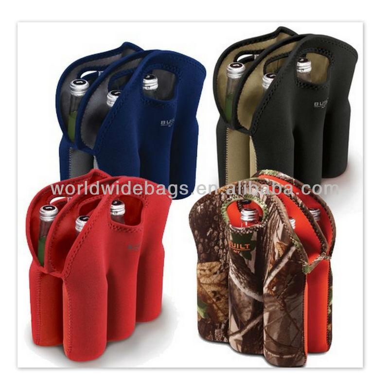 Neoprene Wine Bottle Cooler Bag With Handle