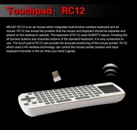 TV Stick MK802 II Android 4.0 Mini PC Google TV Box Internet Wifi Player & Air Fly Mouse RC12