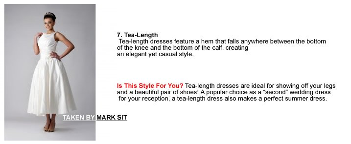 7. Tea-Length