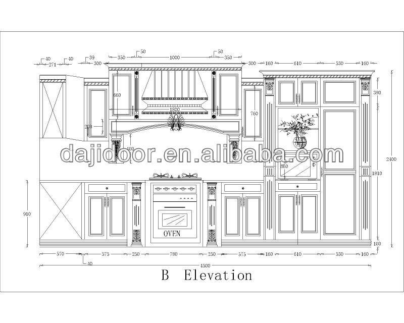 Dark brown american furniture for kitchen dj k133 buy - Dibujos de cocinas ...