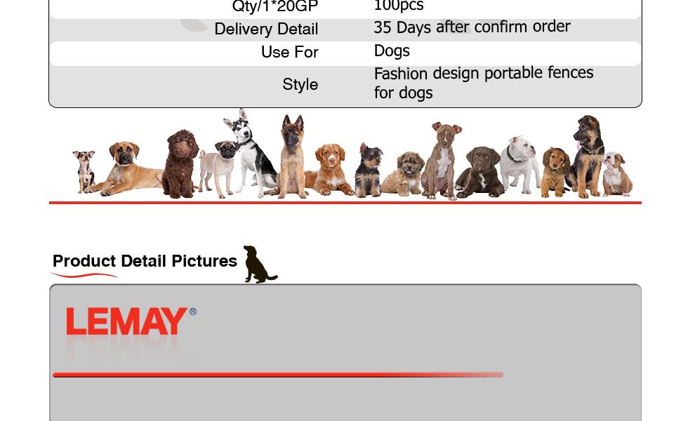 10x10x6ft Large metal pet dog kennel